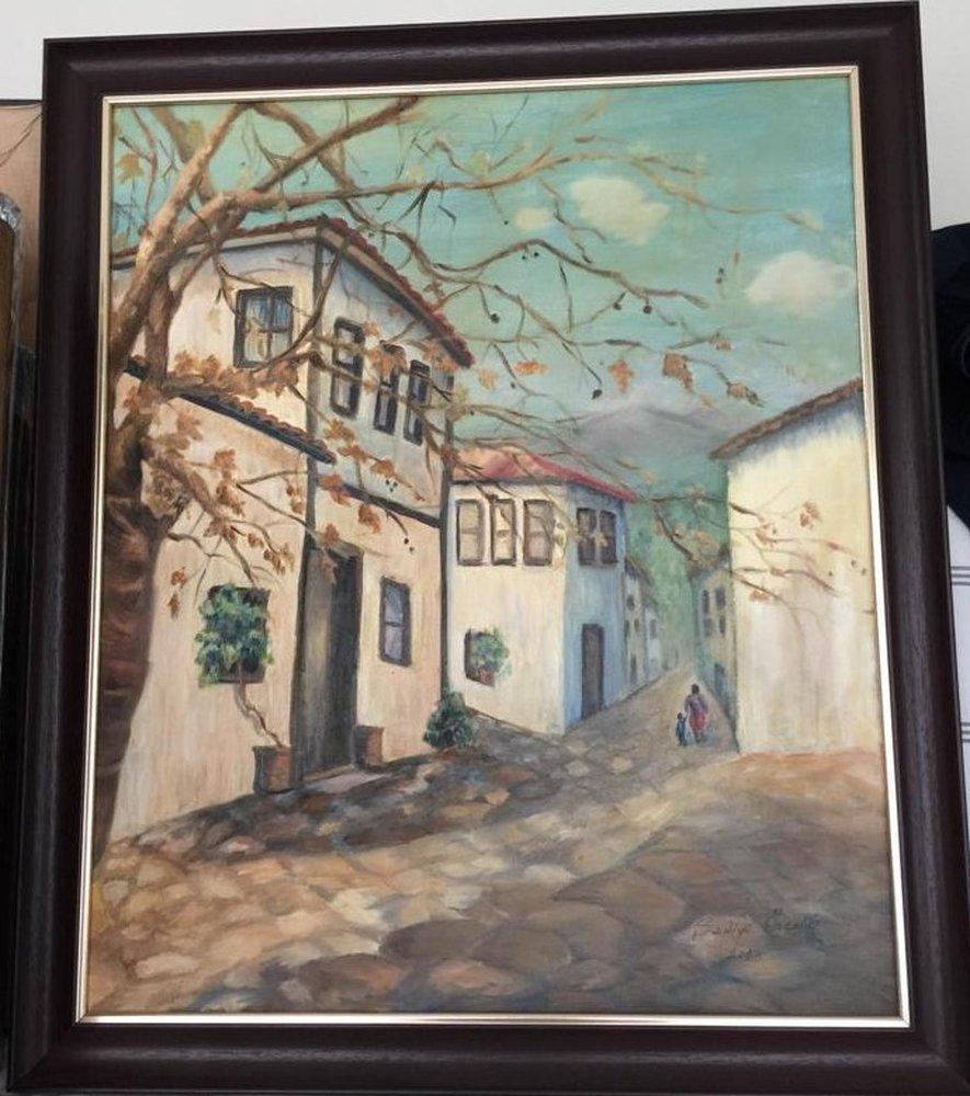 In Street, Original Paintings, , kanvas tablo, canvas print sales