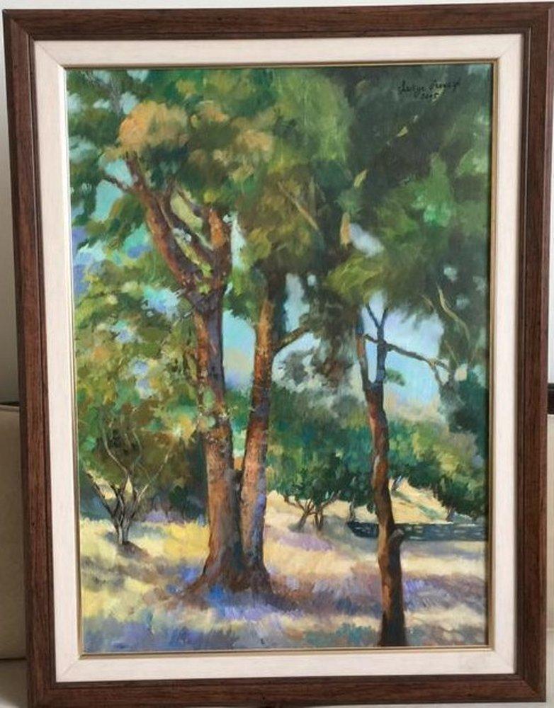 Botanik Parkı Ankara, Orijinal Tablolar, , kanvas tablo, canvas print sales