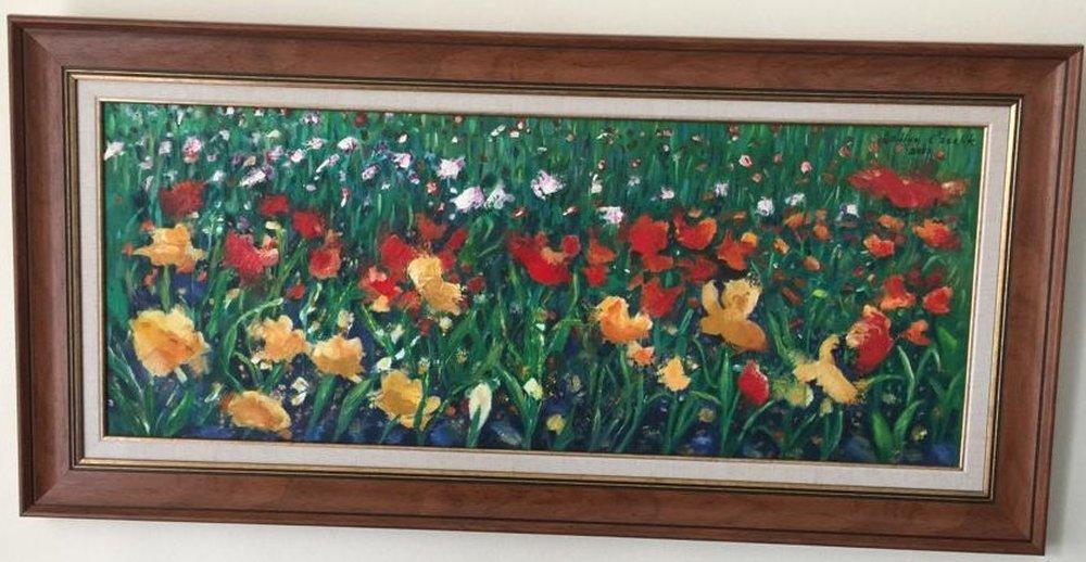 Popies, Original Paintings, , kanvas tablo, canvas print sales
