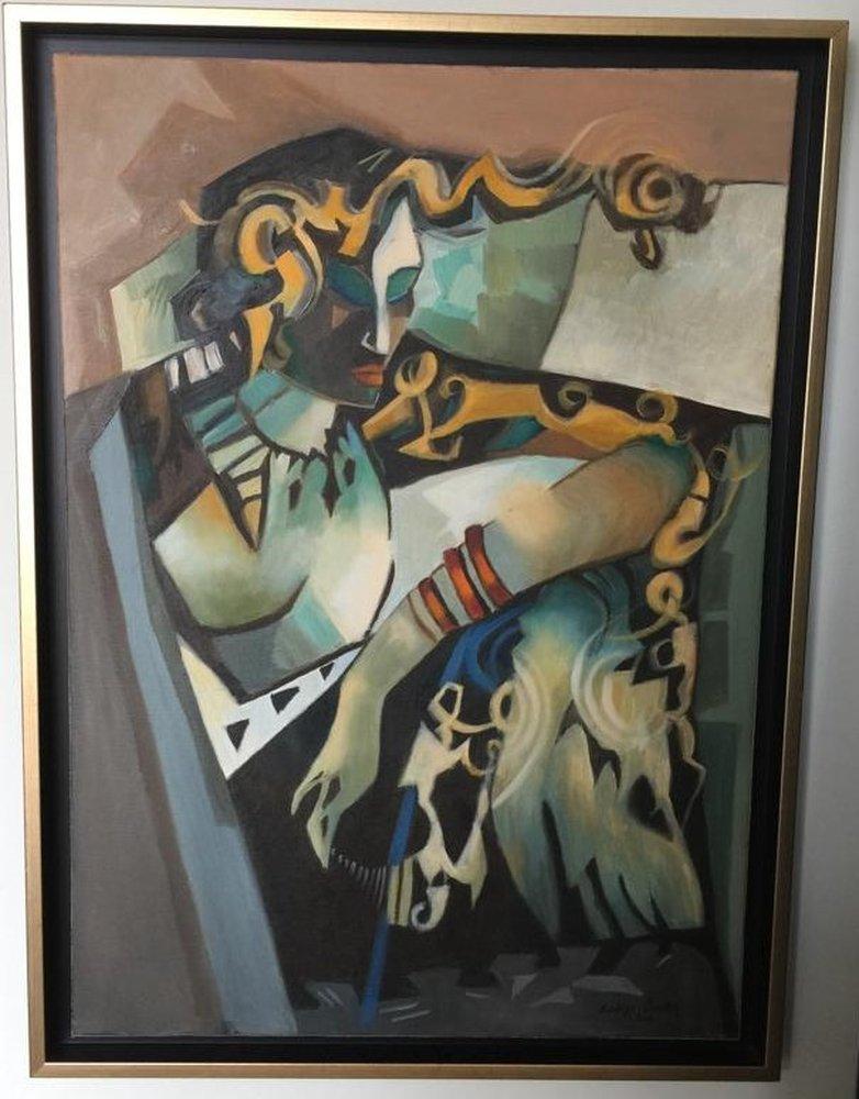 Gypsy, Original Paintings, , kanvas tablo, canvas print sales