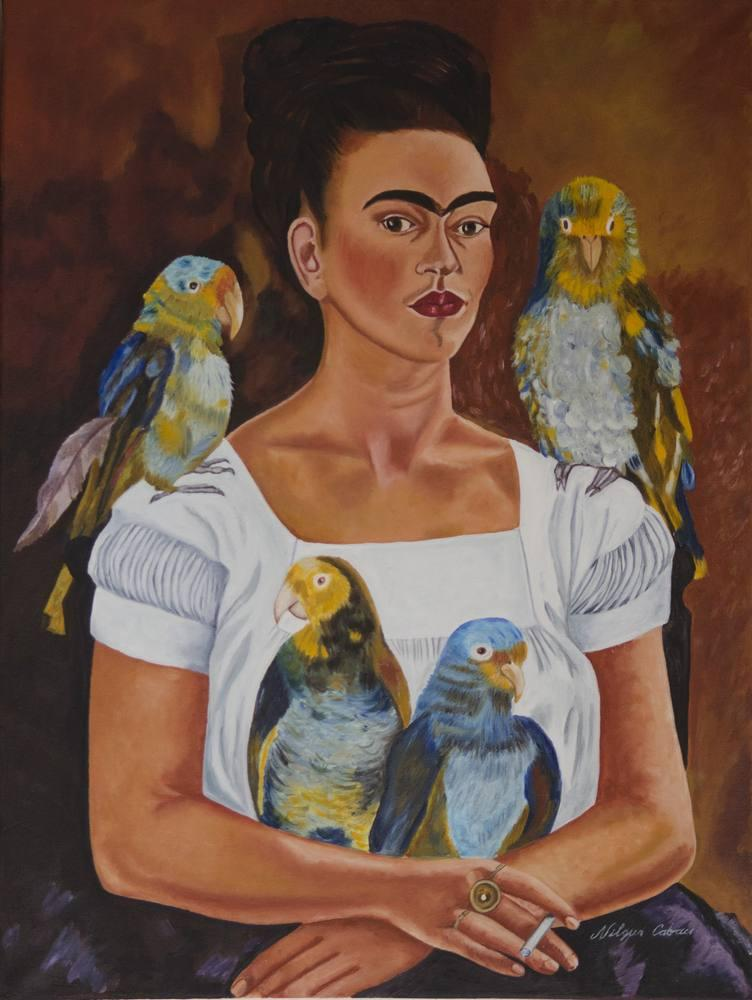 Frida, Orijinal Tablolar, , kanvas tablo, canvas print sales