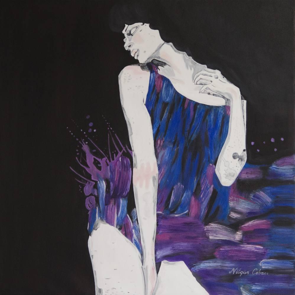 Flying Skirts, Original Paintings, , kanvas tablo, canvas print sales