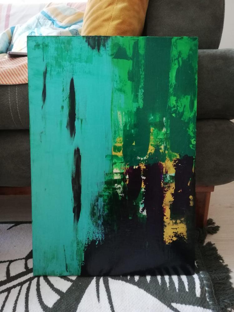 Aşk 12, Original Paintings,