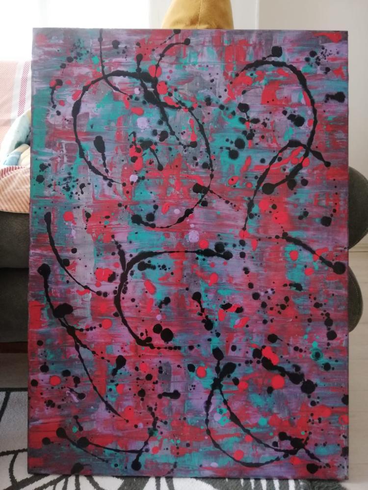 Aşk 9, Original Paintings,