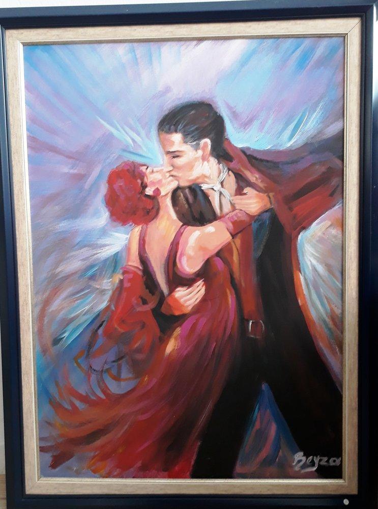 Dancer couple, Reproduction Paintings, , kanvas tablo, canvas print sales