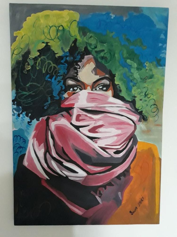 Kadın, Orijinal Tablolar, , kanvas tablo, canvas print sales