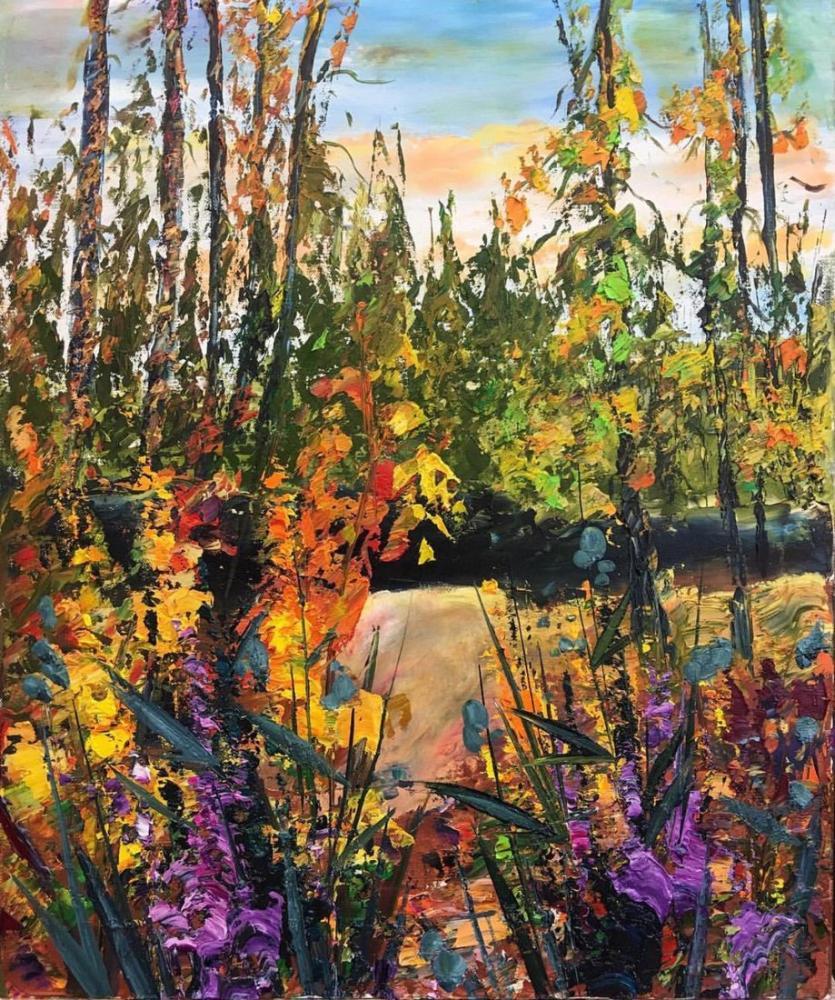 Doğanın Cenneti, Orijinal Tablolar, , kanvas tablo, canvas print sales