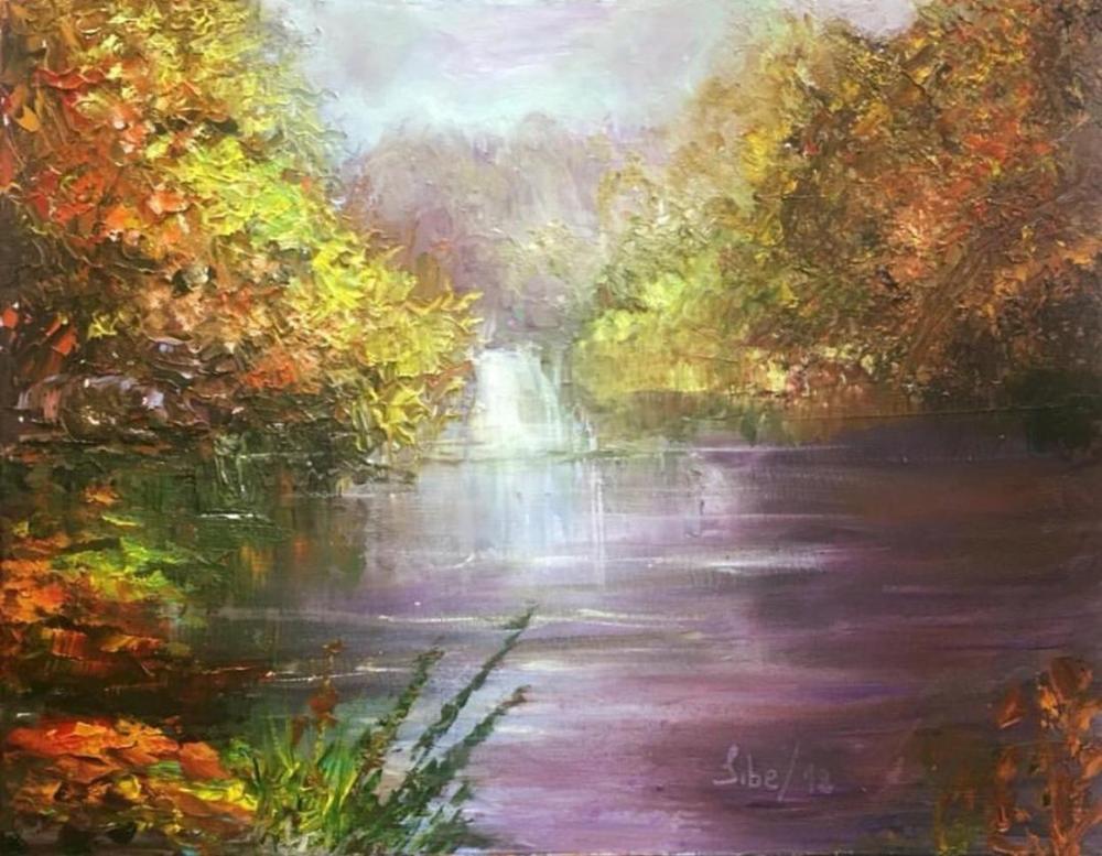 BÜYÜLÜ SARI, Orijinal Tablolar, , kanvas tablo, canvas print sales
