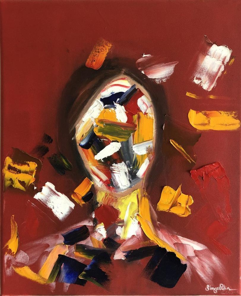 Karmaşa, Orijinal Tablolar, , kanvas tablo, canvas print sales