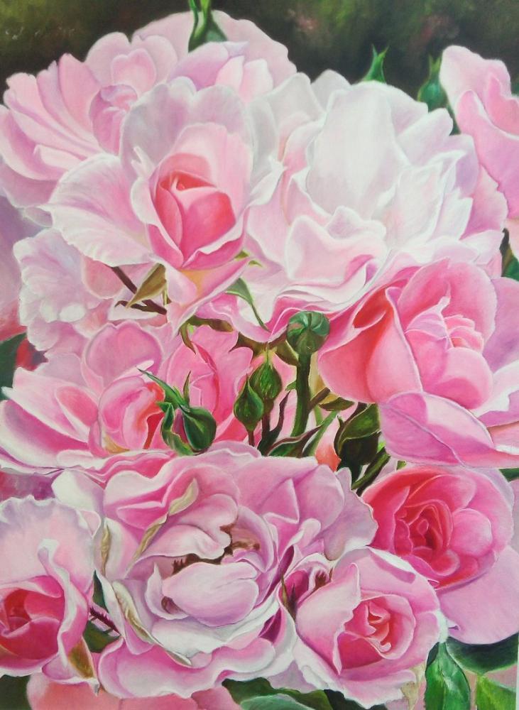 Rosery, Original Paintings, , kanvas tablo, canvas print sales