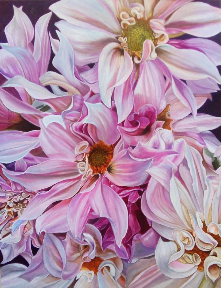 Kat Kat Çiçek, Orijinal Tablolar, , kanvas tablo, canvas print sales