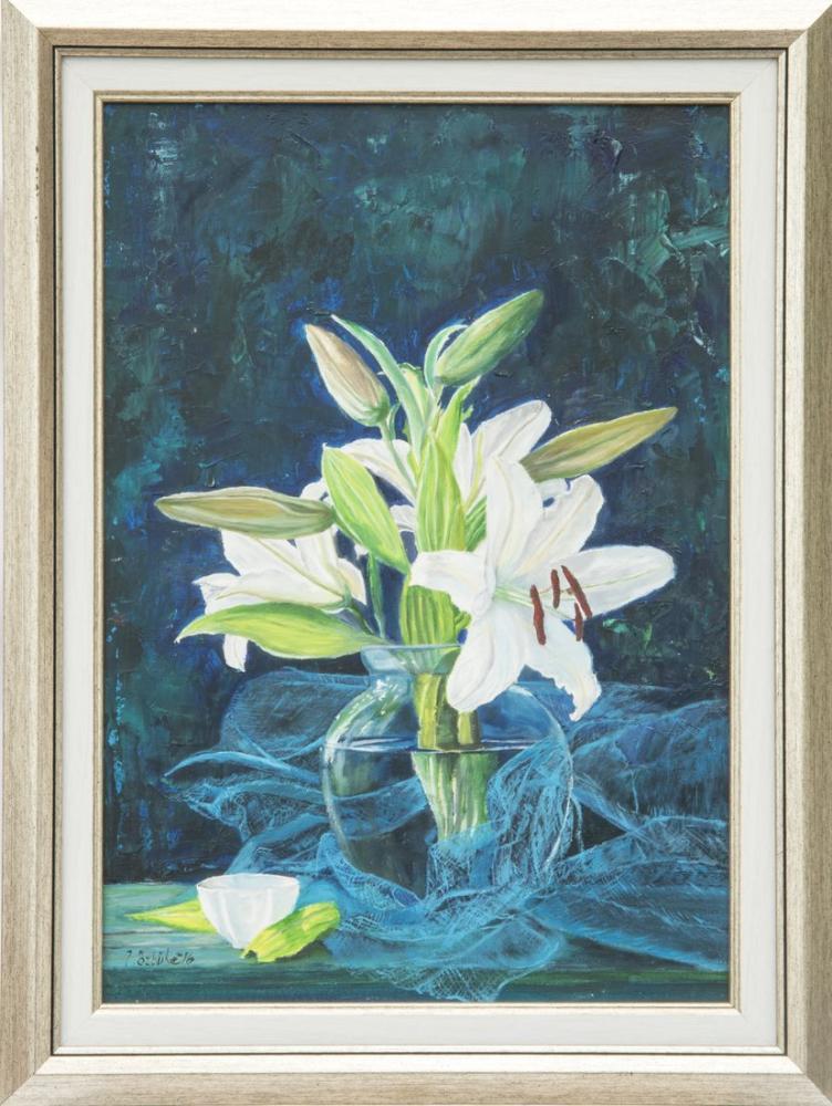 Beyaz Lilyum, Orijinal Tablolar, , kanvas tablo, canvas print sales