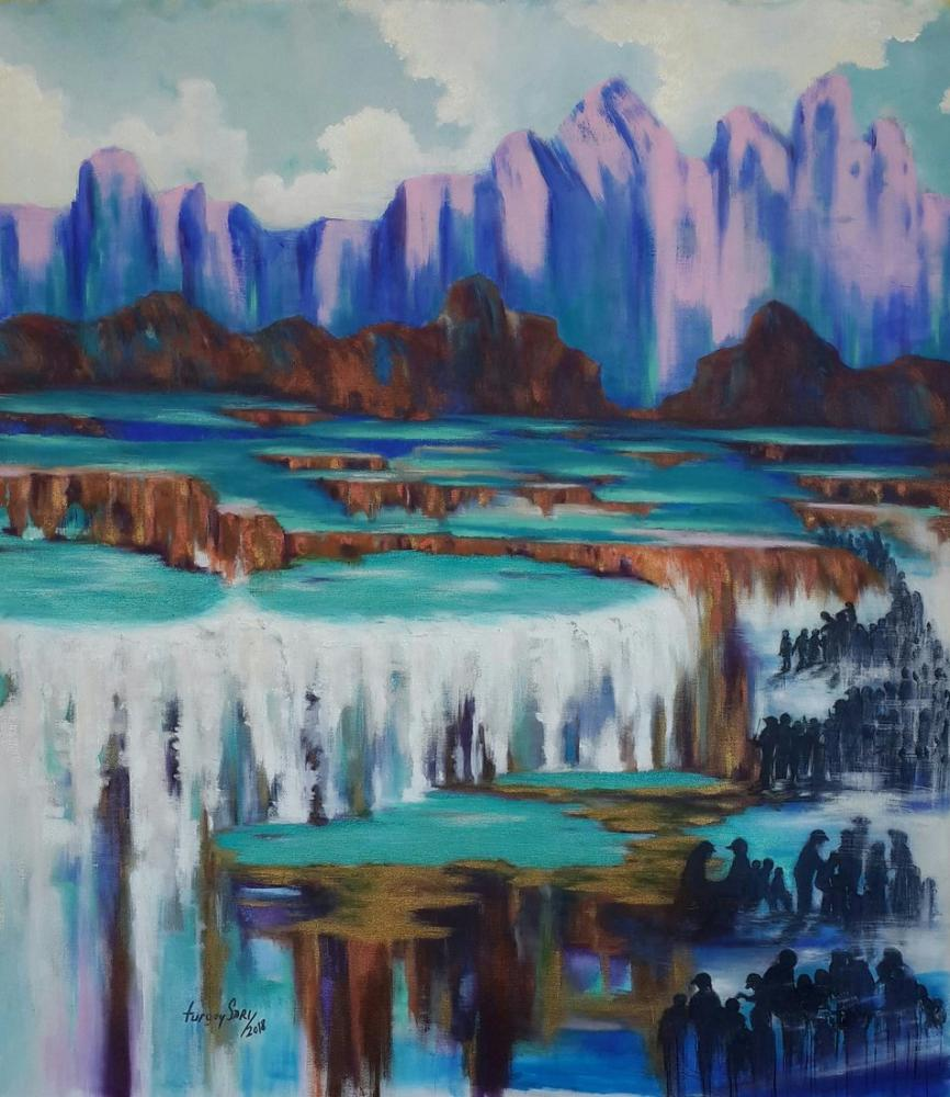 Göletler, Orijinal Tablolar, , kanvas tablo, canvas print sales