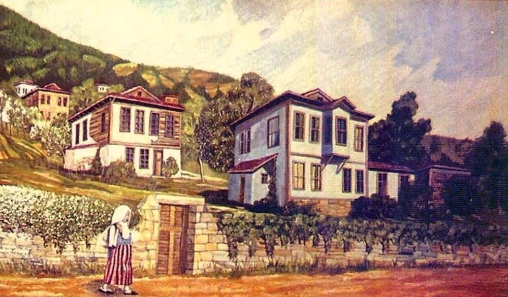 Historical Ordu Landscape, Original Paintings, , UOZBULUN08