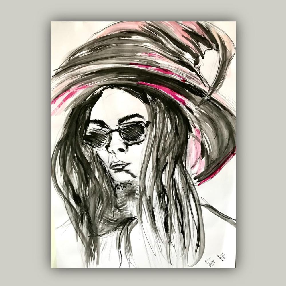 Cadı 3, Orijinal Tablolar, , kanvas tablo, canvas print sales