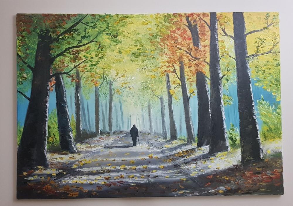 Elveda hayat, Orijinal Tablolar, , kanvas tablo, canvas print sales
