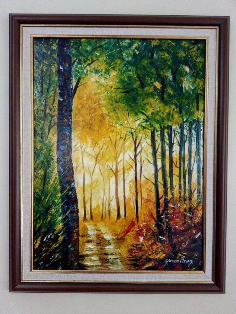 Orman 6, Orijinal Tablolar, , kanvas tablo, canvas print sales
