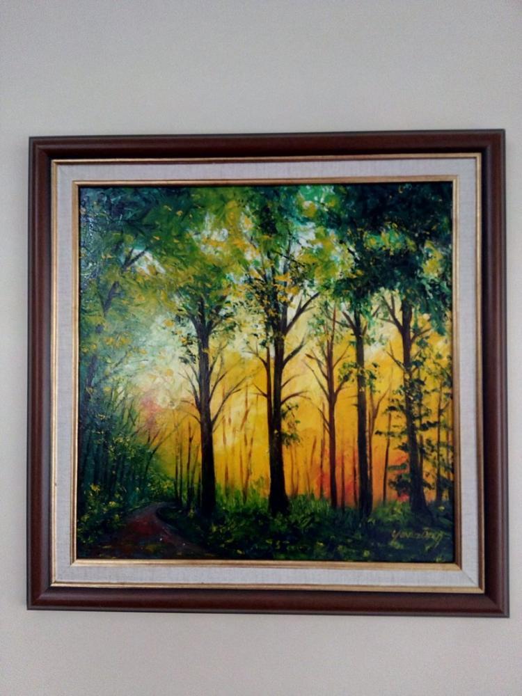 Orman 5, Orijinal Tablolar, , kanvas tablo, canvas print sales