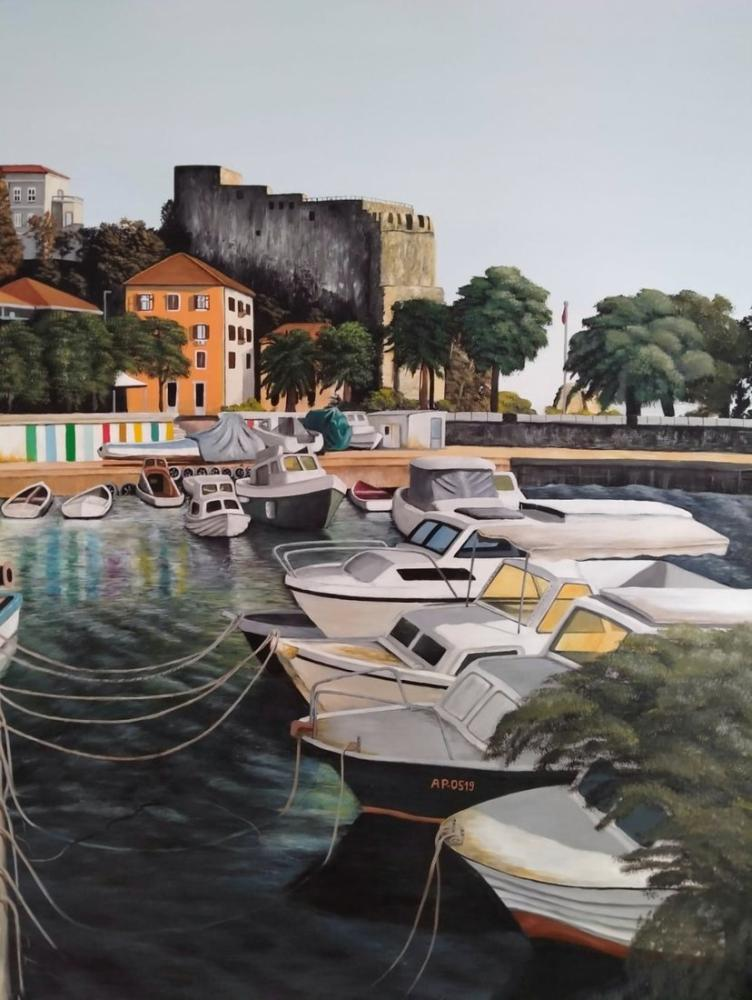 Marina, Original Paintings, , kanvas tablo, canvas print sales
