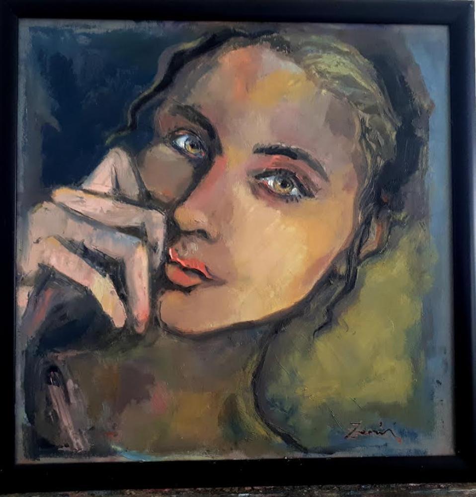 I am waiting 1, Original Paintings,
