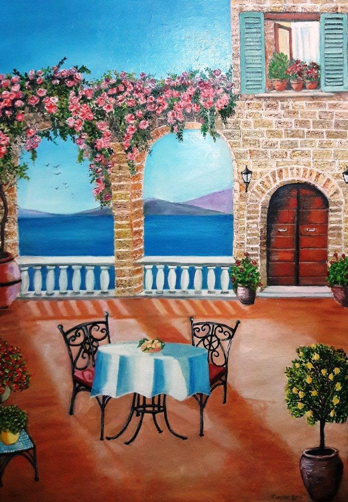 Yalnız Portakal, Orijinal Tablolar, , kanvas tablo, canvas print sales