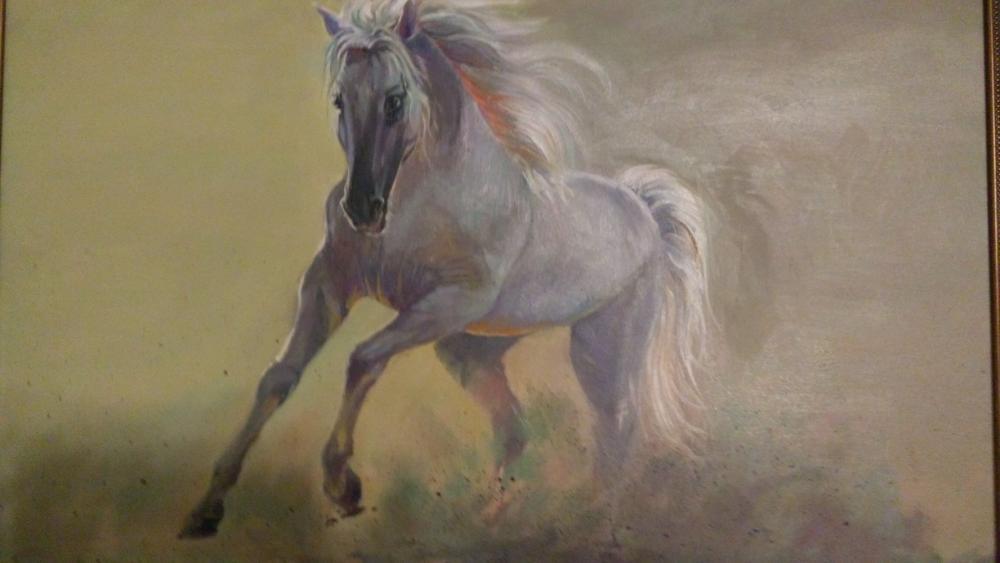 Horse, Oil Paintings, , kanvas tablo, canvas print sales