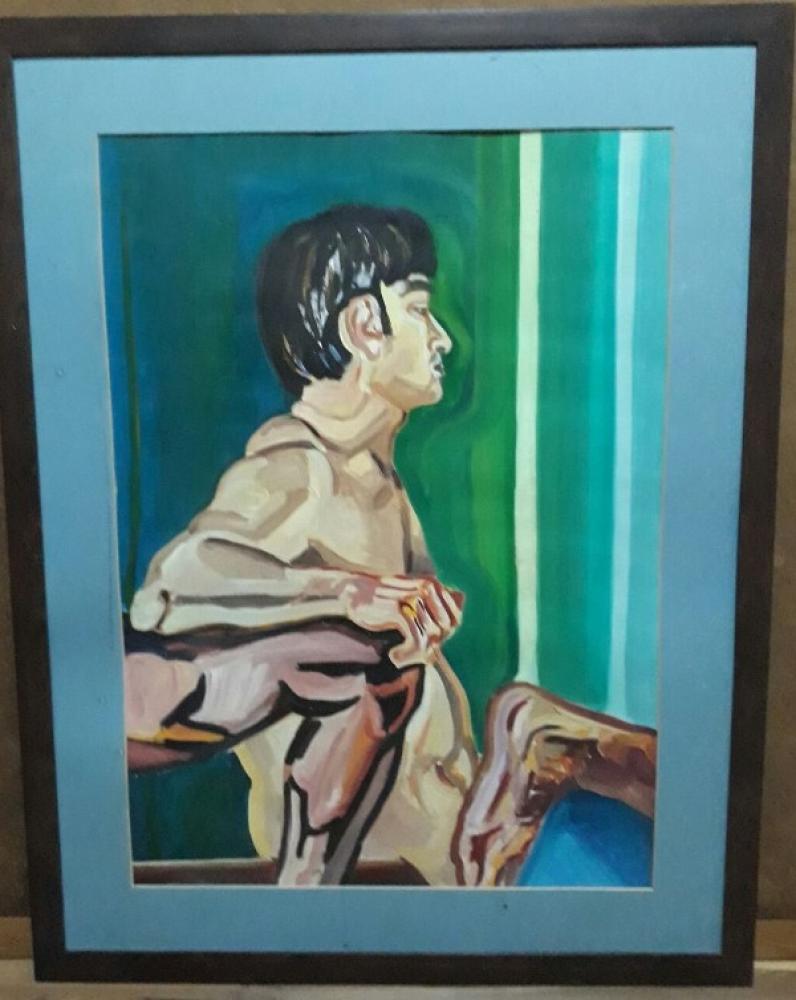 Open Composition, Original Paintings,