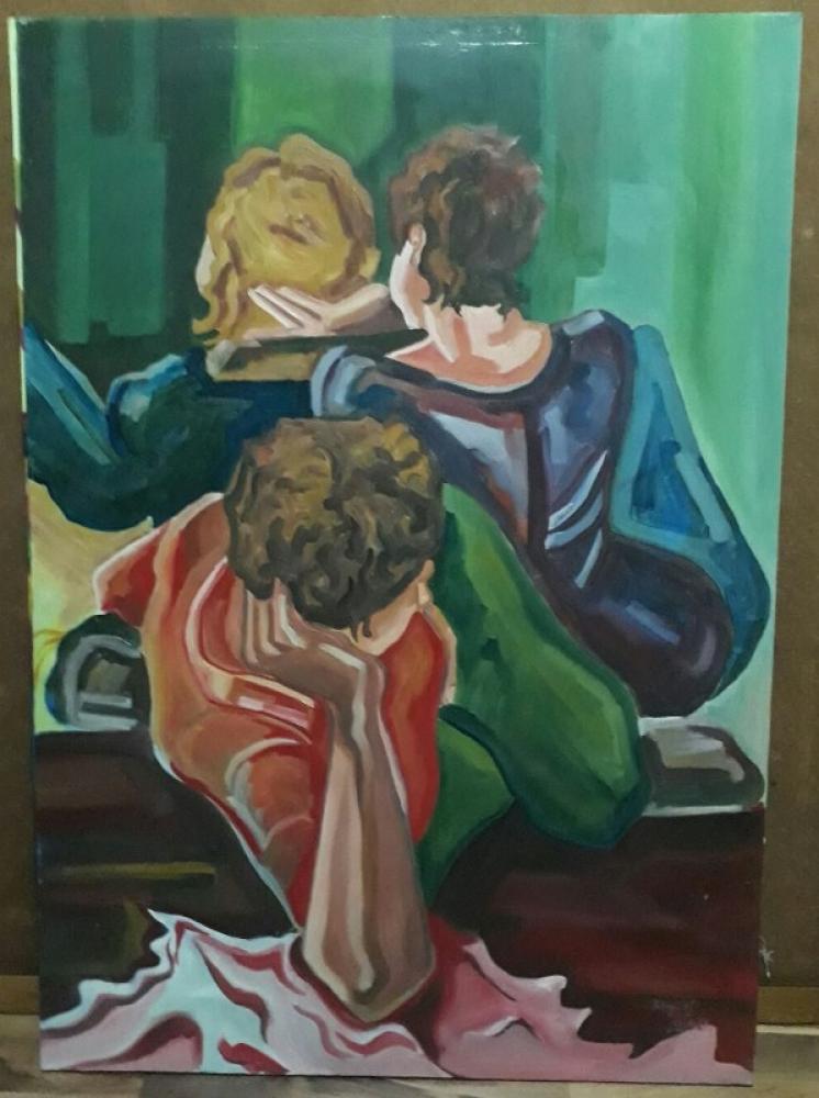 Friends, Original Paintings,