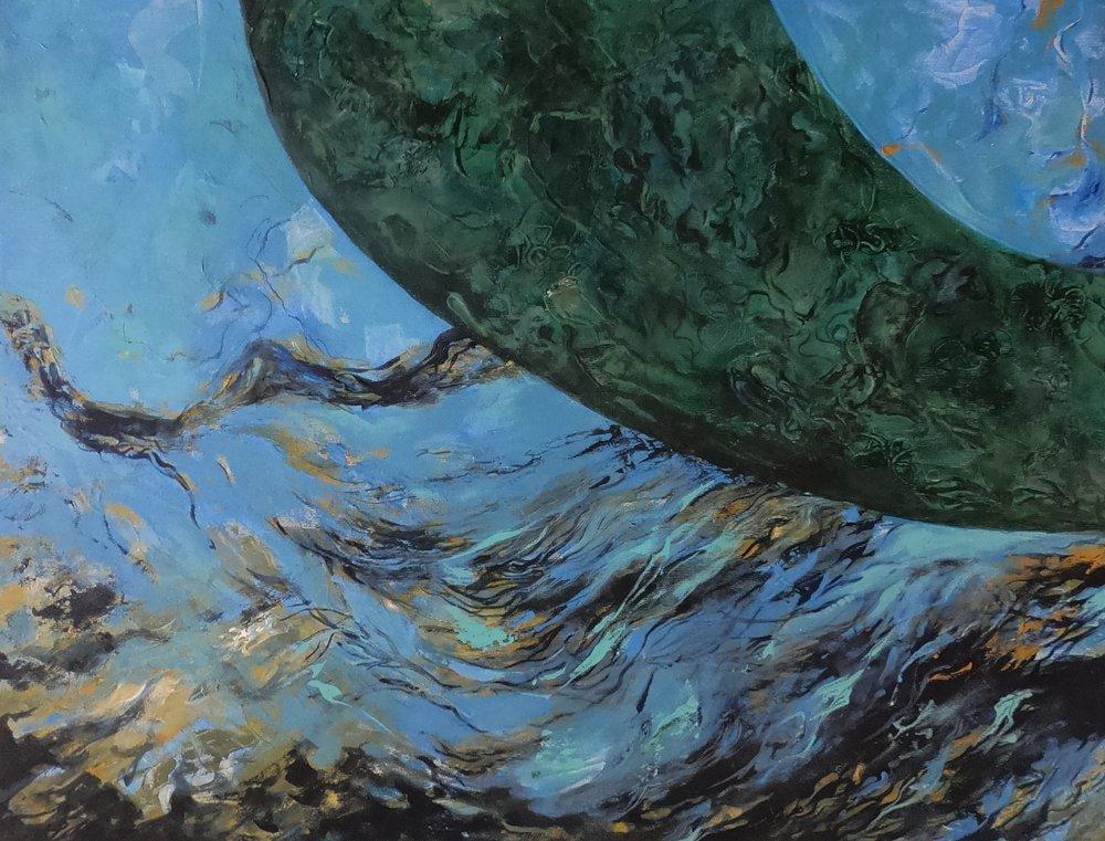 Fish Woman, Original Paintings, , kanvas tablo, canvas print sales