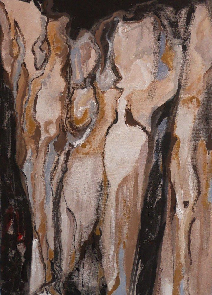 Cream Caramel, Original Paintings,